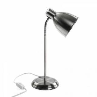 Lampe VENUS en métal couleur argent style retro
