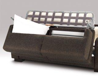Canapé LEONARDO MAXI ACCOUDOIRS Convertible 140cm ouverture RAPIDO Ouverture Assistée matelas 14cm