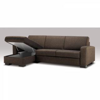 Canapé d'angle LEONARDO Convertible ouverture RAPIDO Ouverture Assistée,couchage 140*200cm
