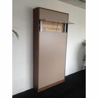 armoire lit escamotables au meilleur prix armoire lit murale 1 place lit 90cm profondeur 26cm. Black Bedroom Furniture Sets. Home Design Ideas