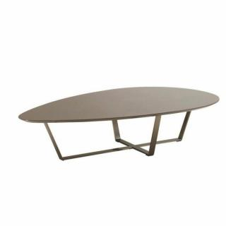 Table basse carr e ronde ou rectangulaire au meilleur - Table basse taupe laque ...