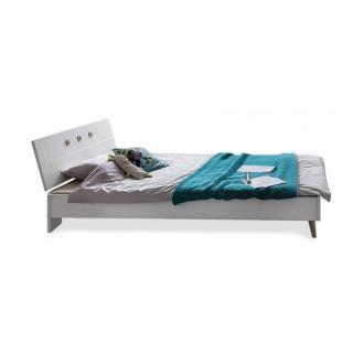 lits chambre literie lit alborg style scandinave inside75. Black Bedroom Furniture Sets. Home Design Ideas