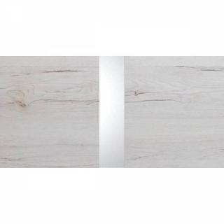 Lit CARAMELLA coloris chêne blanc