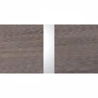 Lit CARAMELLA 140*200cm coloris chêne Montana