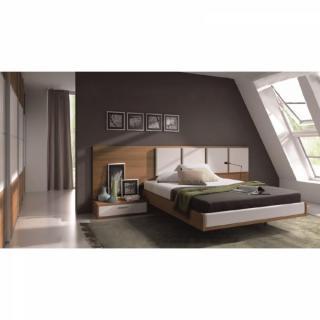 Chambre complète design TANIA couchage 140 x 190