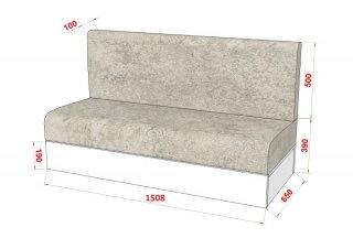 Composition lit escamotable blanc mat DYNAMO SOFA canapé gris Couchage 140 x 200 cm colonne bibliothèque