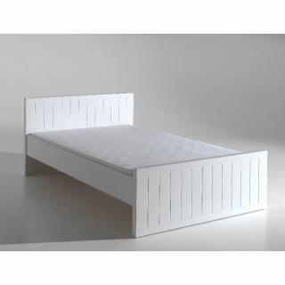 Lit HYDRUS design blanc 120 cm