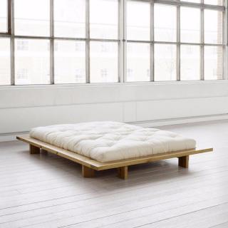 Cadre de lit  japonais JAPAN miel 140*200cm avec sommier