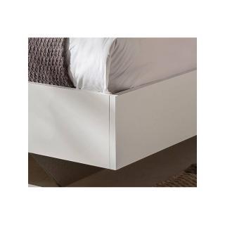 Lit THALIA blanc/hêtre noble 160*200cm