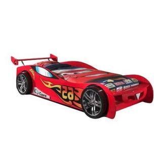 Lit voiture BERLINE design rouge