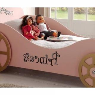 Lits chambre literie lit voiture berline princess - Lit voiture princesse ...