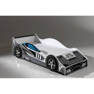 Petit lit voiture BERLINE race car design gris