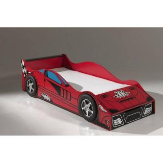 Petit lit voiture BERLINE race car design rouge