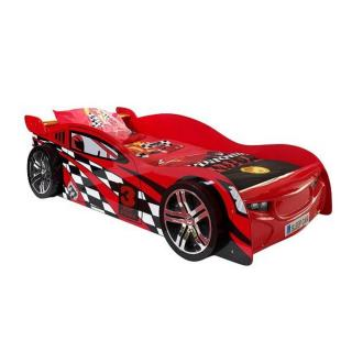 Lit voiture BERLINE speeder design rouge