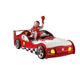 Lit voiture TUCANA design rouge