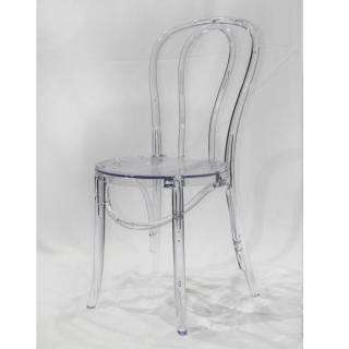 Lot De 12 Chaises Design Bistrot PARIS En Polycarbonate Transparent