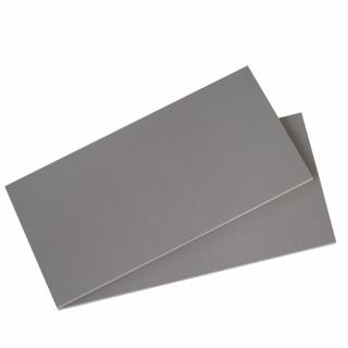 Lot 2 de tablettes BALIOS 87cm coloris gris