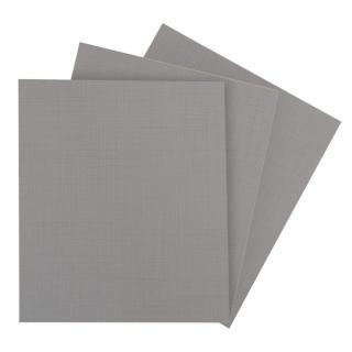 Lot 3 de tablettes BALIOS Larg 43 / Prof 50 cm coloris gris