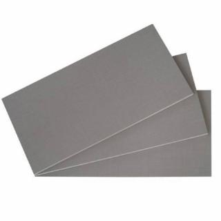 Lot 3 de tablettes BALIOS Larg 87 / Prof 50 cm coloris gris