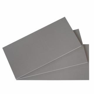 Lot 3 de tablettes BALIOS Larg 96 / Prof 50 cm coloris gris