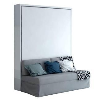 Armoire lit verticale MAGIC canapé intégré 160 * 200 cm