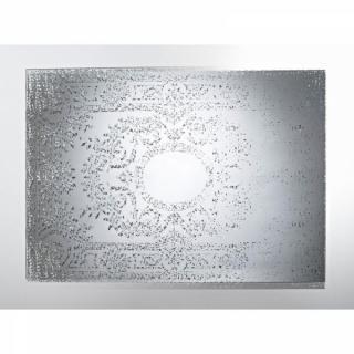MANDALA Miroir mural design en verre