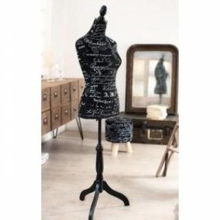 Mannequin de couture VALENTINE noir
