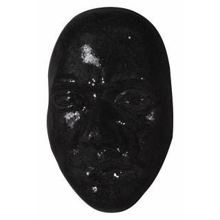 Masque design EXTASE noir 66 cm