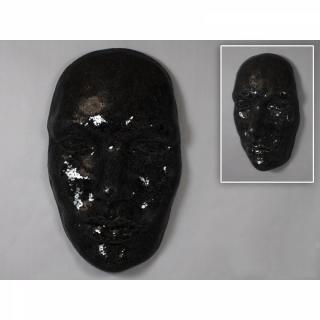 Masque EXTASE noir 103 cm
