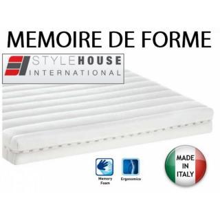 OPTION Matelas confort mémoire de forme 50Kg/m3 - ouverture express 140 cm