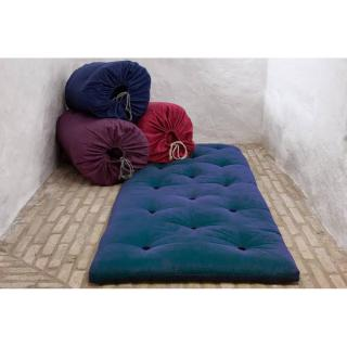 Matelas futon d'appoint bleu royal BED IN A BAG couchage 70*190*5cm
