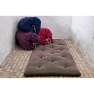 Matelas futon d'appoint gris BED IN A BAG couchage 70*190*5cm
