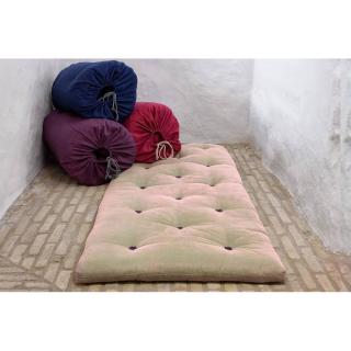 Matelas futon d'appoint taupe BED IN A BAG couchage 70*190*5cm