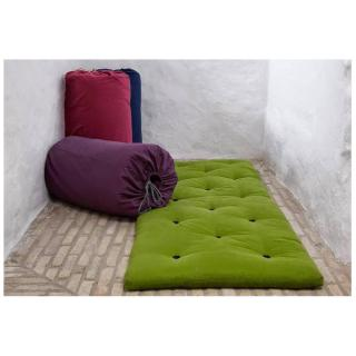Matelas futon d'appoint vert lime  BED IN A BAG couchage 70*190*5cm