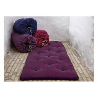 Matelas futon d'appoint violet BED IN A BAG couchage 70*190*5cm