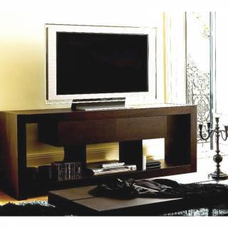 meubles tv meubles et rangements temahome nara meuble tv bois wenge tiroirs design inside75. Black Bedroom Furniture Sets. Home Design Ideas