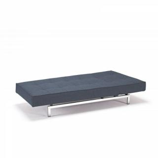 INNOVATION LIVING Meridienne design SPLITBACK bleue convertible lit 100*200cm