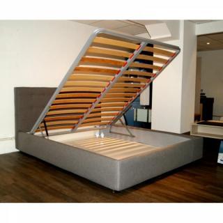 lits chambre literie lit coffre metropolis haut de gamme avec t te de lit 160 200 cm inside75. Black Bedroom Furniture Sets. Home Design Ideas