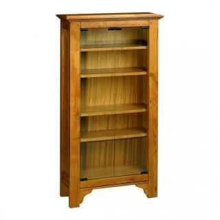 biblioth ques tag res meubles et rangements meuble cd dvd fidelia 2 portes vitr es 4. Black Bedroom Furniture Sets. Home Design Ideas