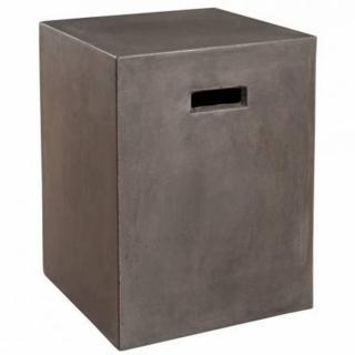 Meuble cube design industriel nino en béton