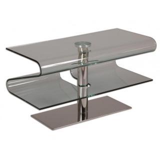 meuble tv design agate en verre with meuble tv escamotable bout de lit. Black Bedroom Furniture Sets. Home Design Ideas