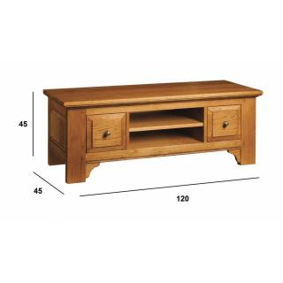 Meubles tv meubles et rangements meuble tv ernest en - Meuble style campagnard ...