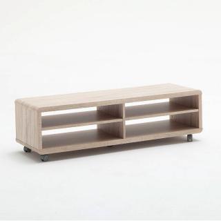 meubles tv meubles et rangements meuble tv compact jeff gm ch ne roulettes inside75. Black Bedroom Furniture Sets. Home Design Ideas