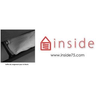 Clic-clac design MINIMUM  convertible lit 200 * 140cm coussins déco inclus