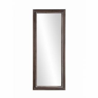 Miroir rectangulaire CASSIE 40 x 100 cm en bois de paulownia style campagne