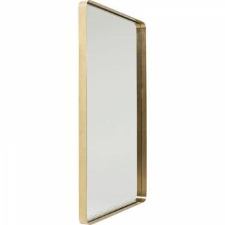Miroir COOL design rétro vintage cadre rectangulaire laiton 120/80cm