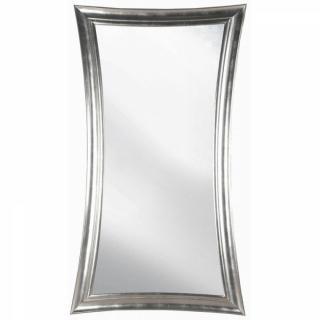 Miroir RASBERRY design rétro vintage cadre rectangulaire argenté 197/90cm