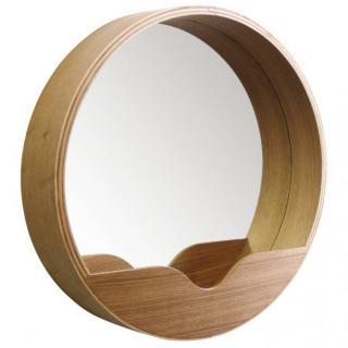 ZUIVER Miroirs ROUND WALL 40' en bois diamètre 40 cm
