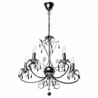 Lustre Mw-Light 301017005 noir perlé CLASSIC style baroque