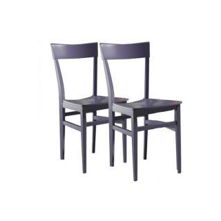 Lot de 2 chaises NAVIGLI en hêtre